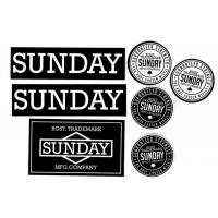 Sunday Bikes - 2016 Sticker Pack (7pc)